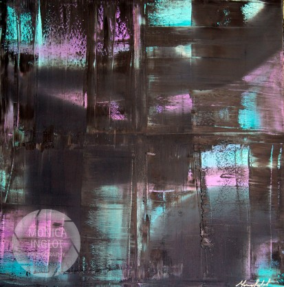 "Like Richter 1, 2013, 36"" x 36"",FOR SALE"