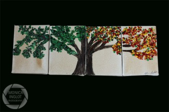 "Transition Tree, 2012, 4 5"" x 7"", SOLD"